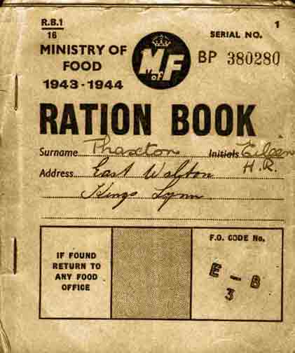 rationing during 1940s essay