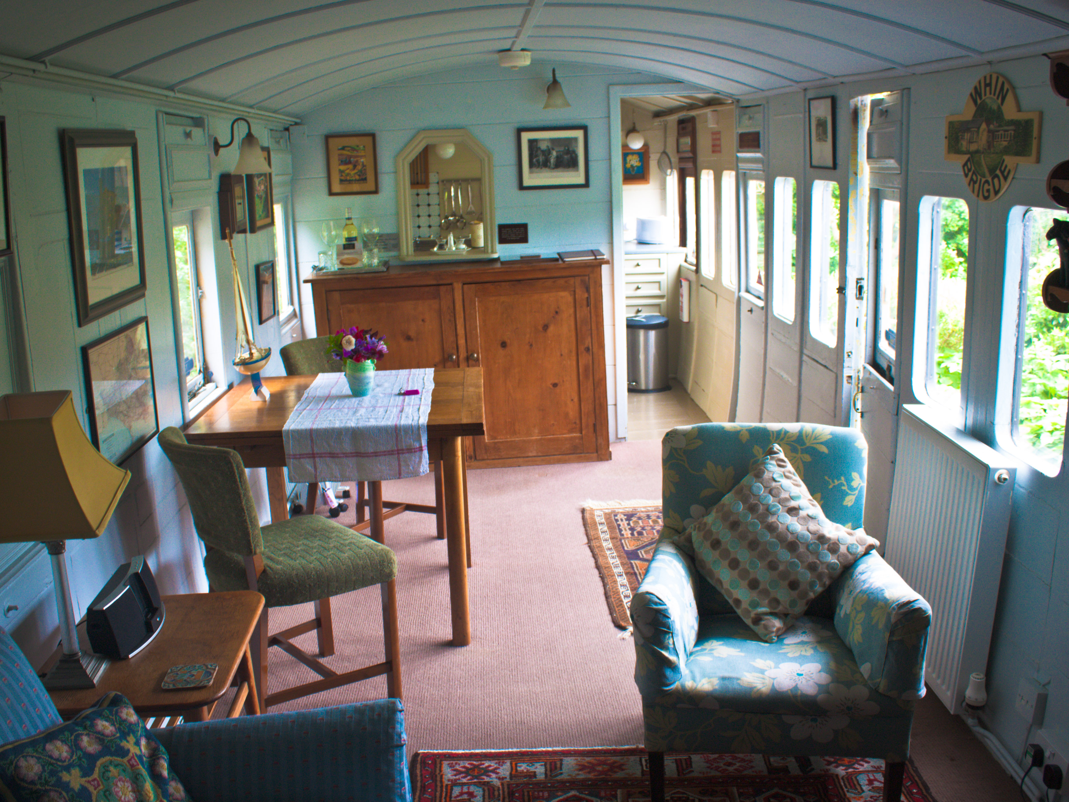 Train carriage project on pinterest old trains artist for Carriage homes